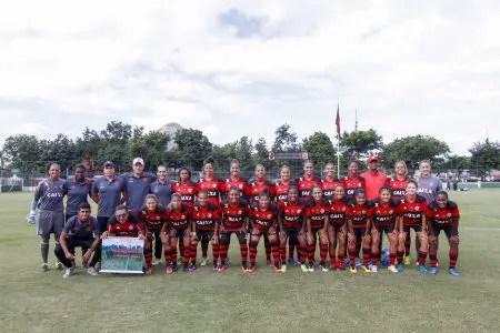 Brasileiro Feminino 2017: Flamengo/Marinha é derrotado pelo Santos na Gávea