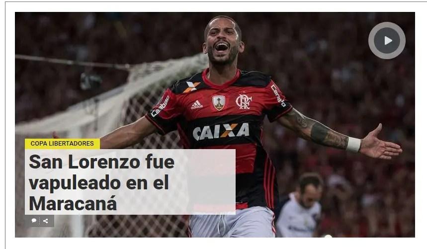 """""""Surra"""", Trauco e Maracanã: como a imprensa sul-americana viu a goleada"""