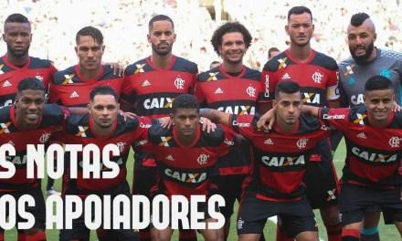 As notas dos apoiadores | Flamengo 1 x 0 Fluminense