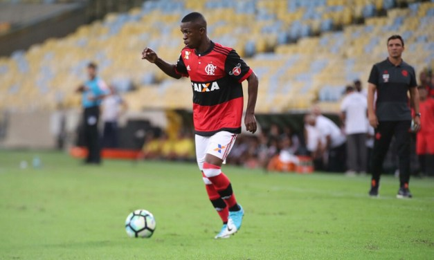 A semana de Vinicius Junior no Flamengo