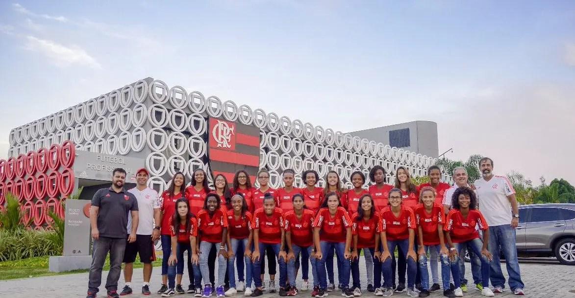 Conheça o elenco do Futebol Feminino Sub-18 do Flamengo