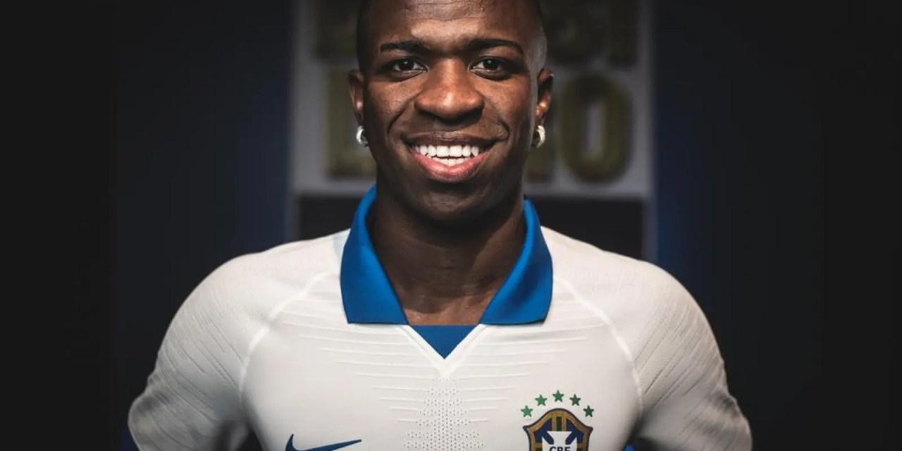 Apontado como um dos favoritos, Vinícius Jr. fica de fora da Copa América