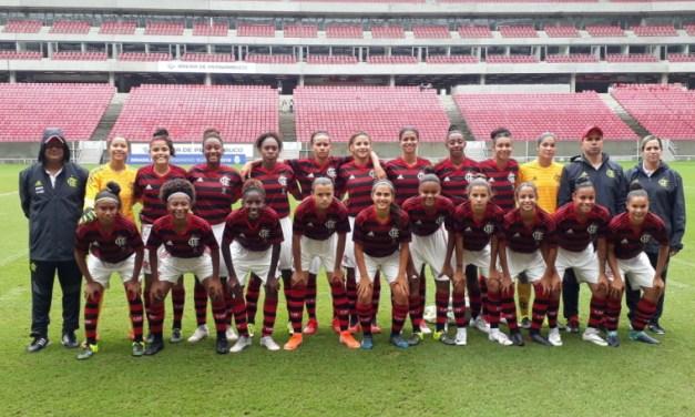 Com ótimos números e invicto, Flamengo encerra primeira fase do Brasileiro Feminino Sub-18