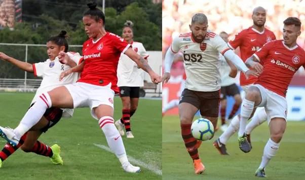 Flamengo x Internacional: quatro confrontos em agosto na categoria adulta