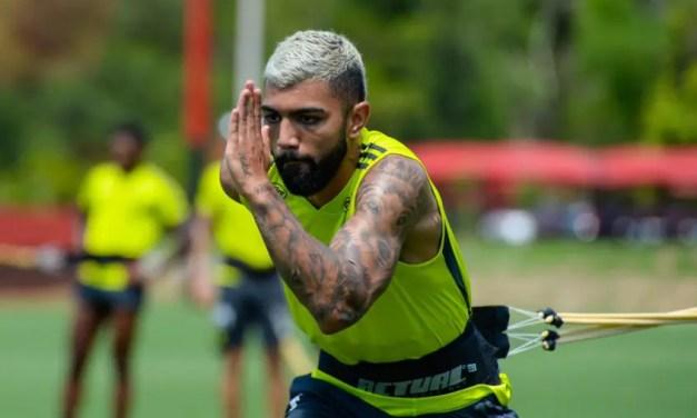 Flamengo divulga relacionados sem Gabigol; desfalque do atacante ainda não é certeza