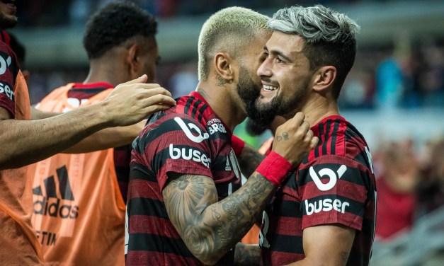 Euforia carioca e decepção mineira: confira as narrações da vitória do Flamengo contra o Cruzeiro