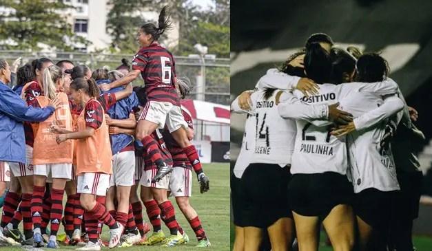 Em Cariacica, Flamengo e Corinthians se enfrentam pelas semifinais do Brasileiro Feminino