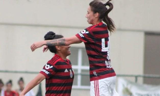 Flamengo/Marinha goleia Campo Grande e chega a 23 gols em 2 jogos no Carioca Feminino