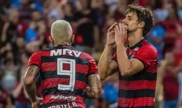 Convocados, Gabigol e R. Caio irão desfalcar o Fla em três jogos; atacante voltará a fazer dupla com Neymar
