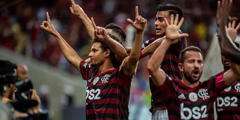 Flamengo alcança pontuação que praticamente o garante na Libertadores de 2020