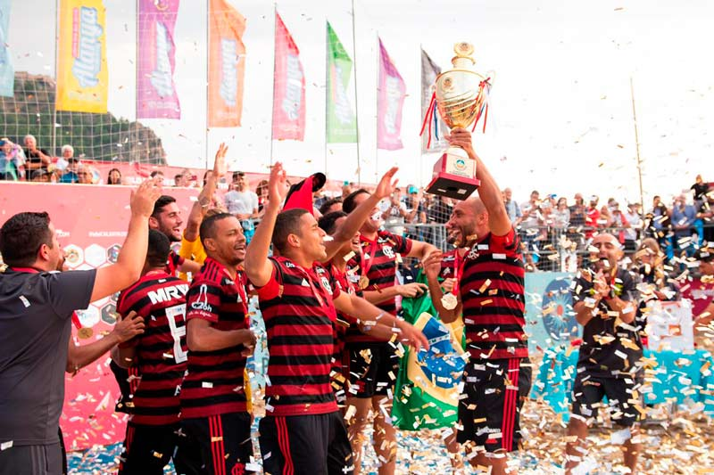 flamengo campeao liga mundial beach soccer