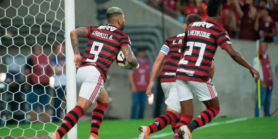 Faltam 2 pontos para o Fla de 2019 ser o melhor do clube na era dos pontos corridos