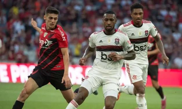 Notas e atuações de Athletico 0x2 Flamengo