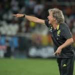"""Jorge Jesus critica postura do Botafogo e provoca: """"Perderam do mesmo jeito"""""""