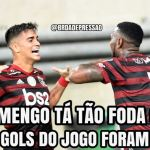 Flamengo vira em cima do Bahia e empolga torcida; veja memes