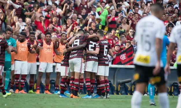 Téo Benjamin: Flamengo 4×1 Corinthians (análise da partida)