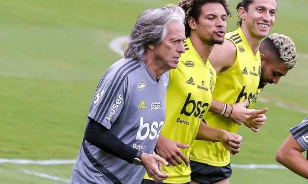Sem Rafinha, mas com retornos: veja provável escalação do Flamengo contra o Santos