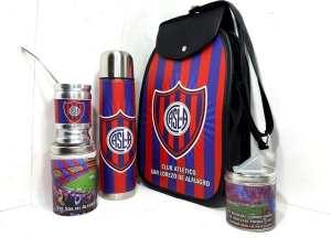 Set matero diseño del Club San Lorenzo colección FAR