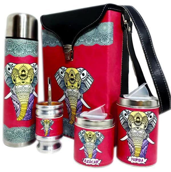 Set matero diseño de Elefante colección FLOR