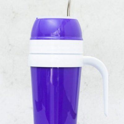 Mates autocebante de Plástico color violeta