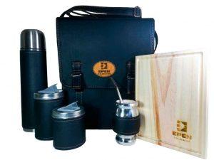 Set matero personalizado con grabado laser