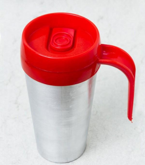 Vaso termico cafe mug color rojo