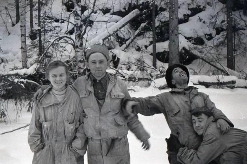 Dyatlov Pass ubinina, Krivonischenko, Thibeaux-Brignolles e Slobodin