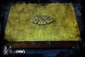 qual é o seu desejo história de terror caixa dourada antiga