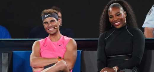 Rafa Nadal y Serena Williams