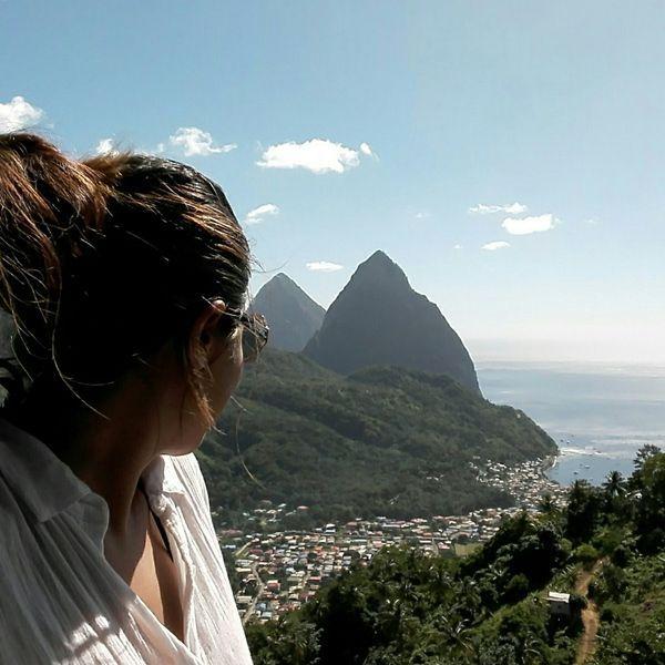 La vista a los Pitones de Santa Lucía - Foto Mundukos