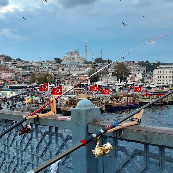 Puente de Galata en Estambul - Foto Mundukos