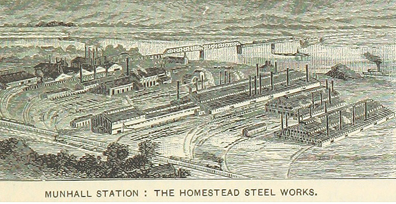 The Steel Industry and Andrew Carnegie – Borough of Munhall PA