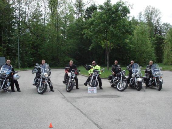 HOG Road-Captain Training in Bad-Tölz