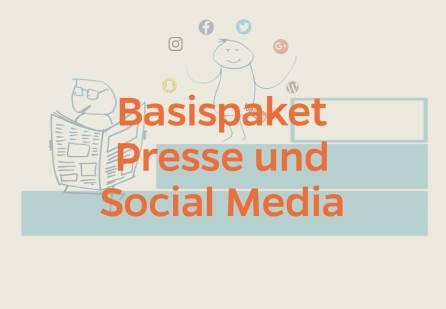 Basispaket Presse und Social Media