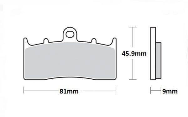 BRAKE PADS (Front) Tokico Calipers only