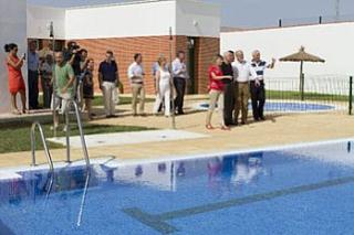 Munideporte Inauguracin de la piscina municipal Deporte municipal en Espaa