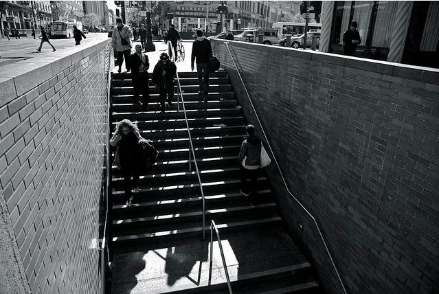 muni station steps by generic