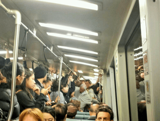 montgomery bart crowded