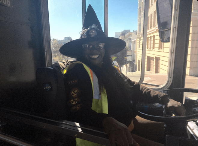 muni driver halloween costume by abjornsen
