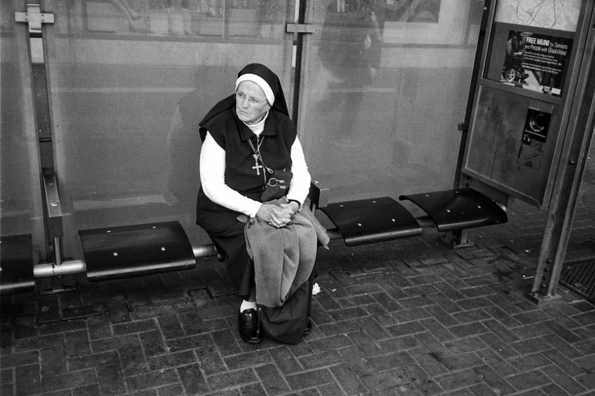 nun waiting for muni by troy holden