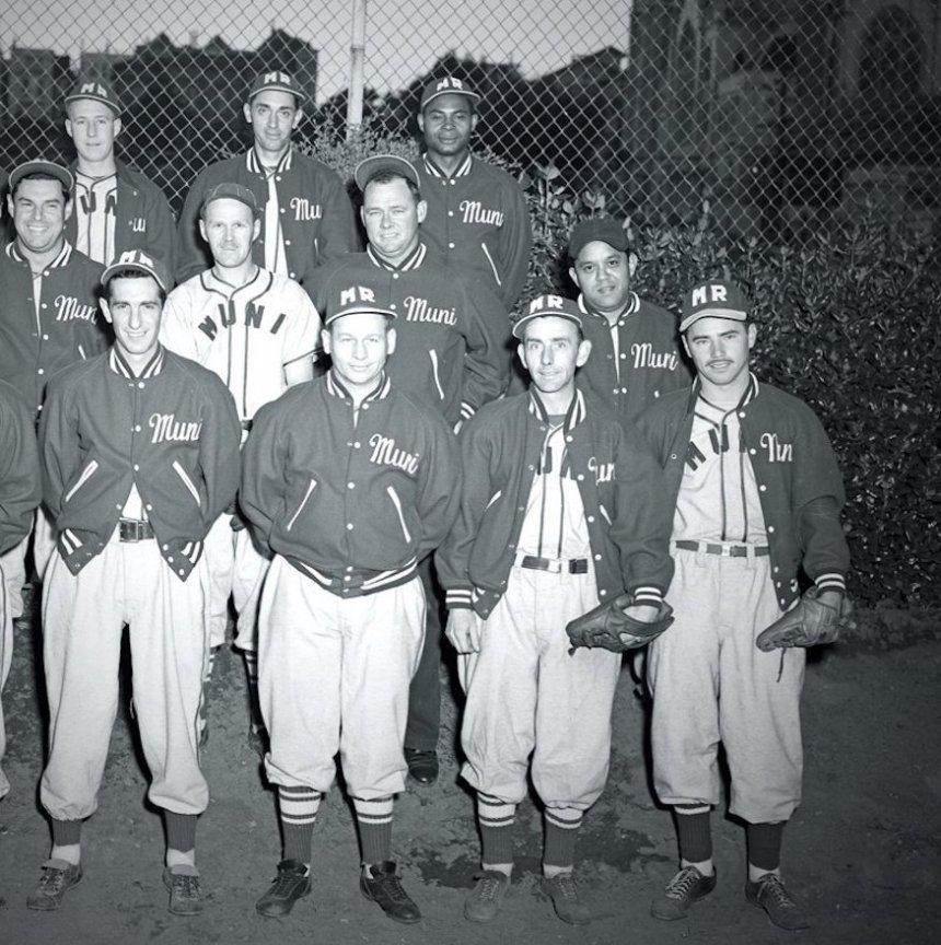Muni baseball team