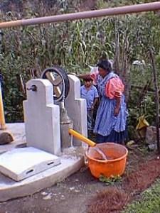 Construcción de cisternas subterráneos de recolección de agua pluvial, finalizada