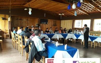 Socialización y entrega del informe de sistematización del PDM-OT