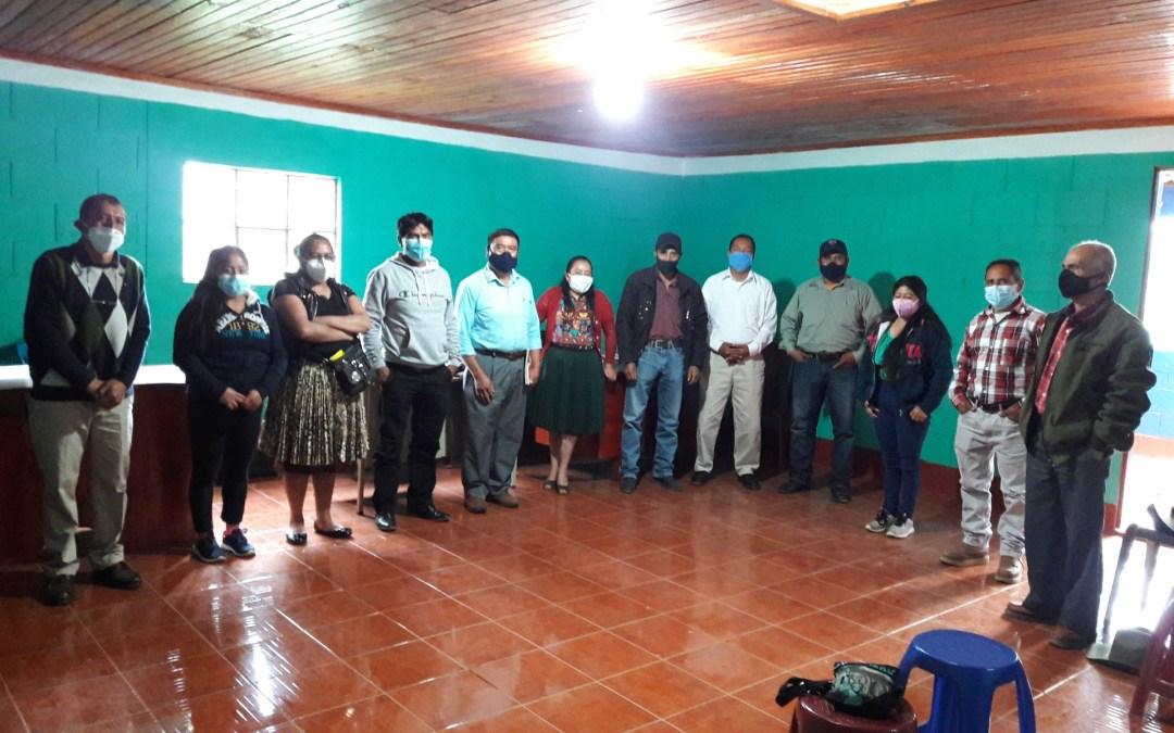 Taller sobre operación y mantenimiento del sistema de agua potable en el Municipio de San Antonio Sacatepéquez.