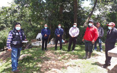 Muni-K´at en coordinación con la Municipalidad de San Antonio Sacatepéquez, inaugura proyecto de agua en la comunidad de San Ramón.