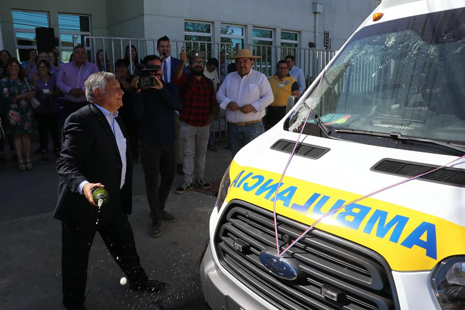 Inauguración de nuevas ambulancias para nuestra comuna