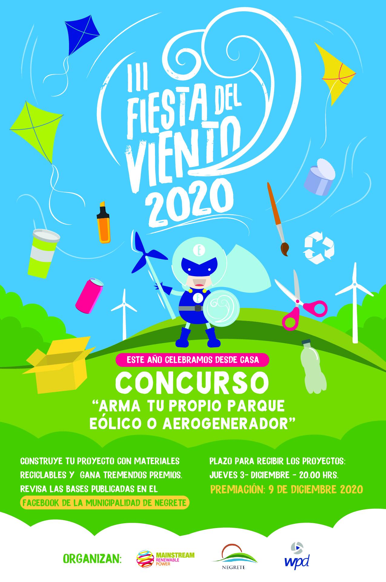 Bases Concurso 'Fiesta del Viento' 2020