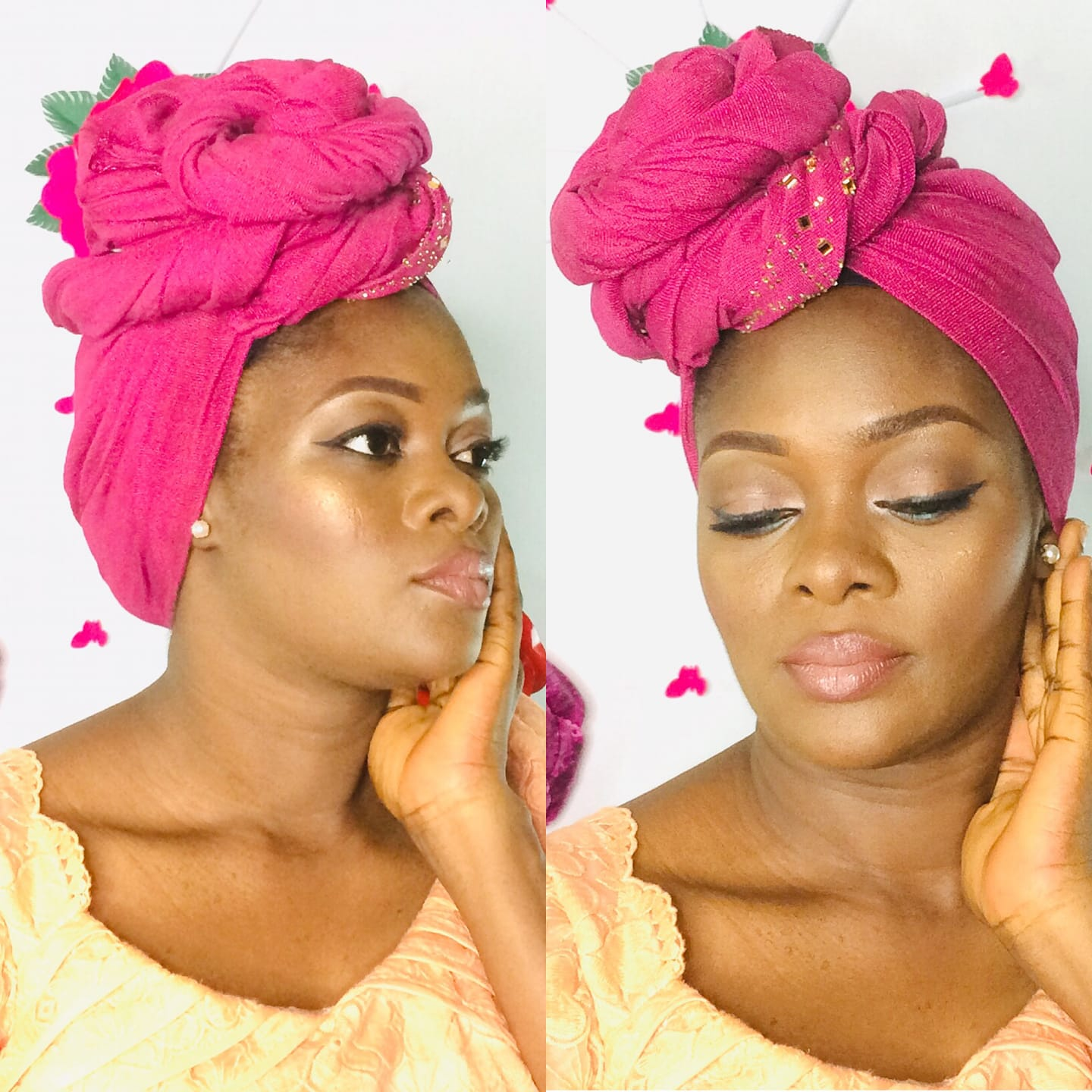 DIY Beginner friendly Easy GELE style you can achieve in less than 10 Minutes