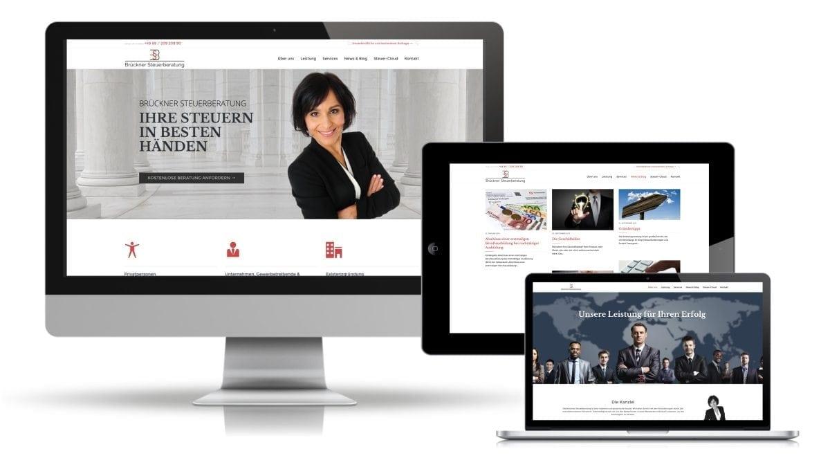 brueckner-steuerberatung-website-design