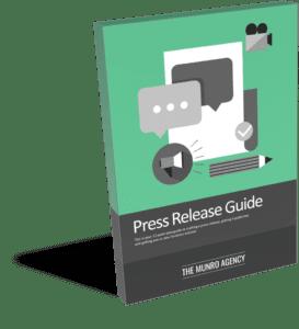 PR guide cover